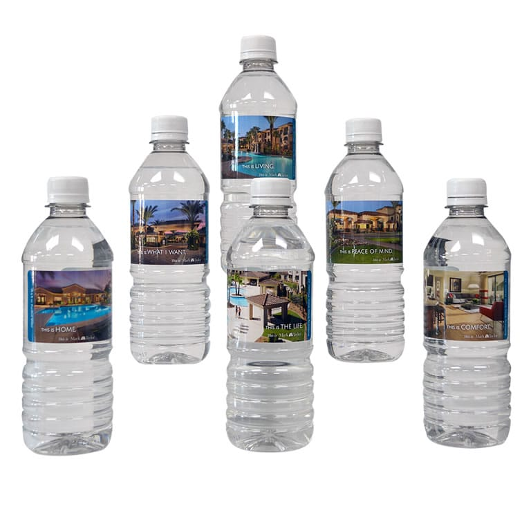 Water Bottles Label Printing