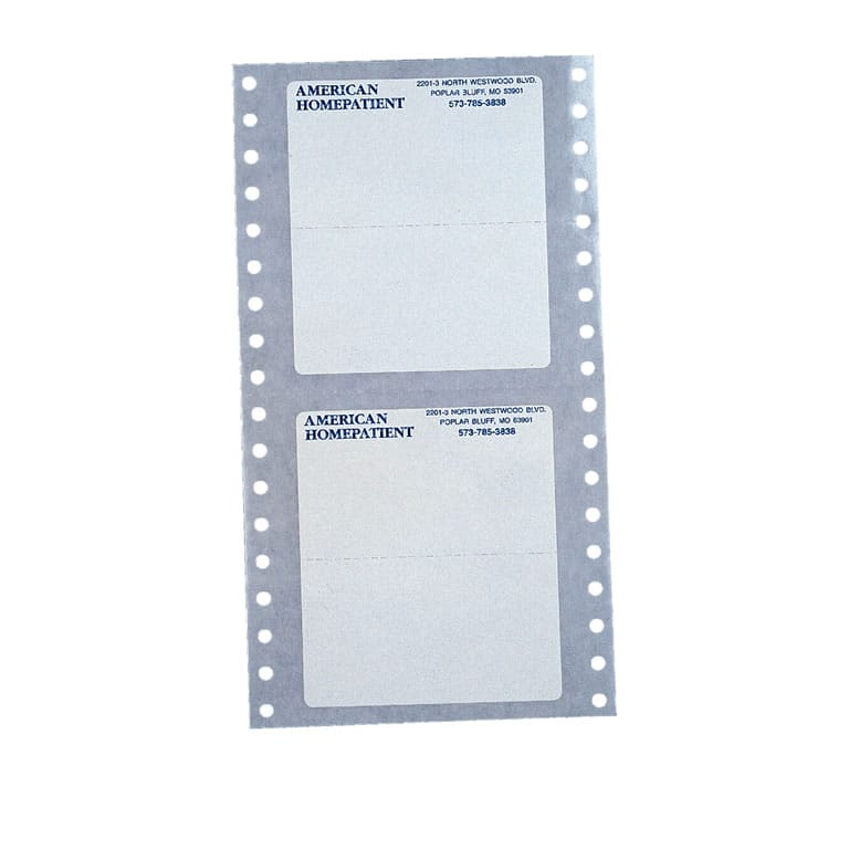 Dot Matrix Labels Printing