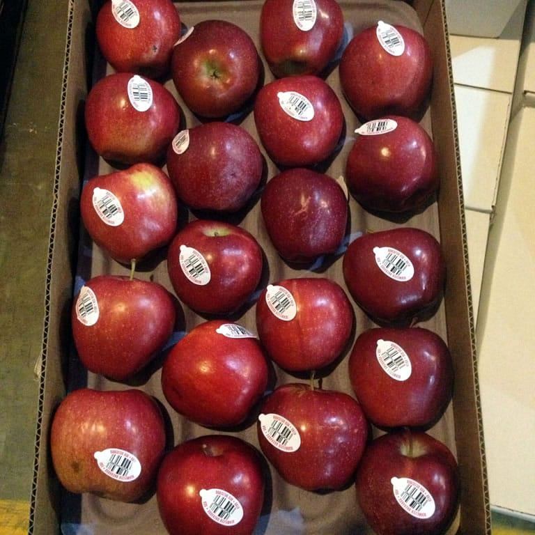 Apples Label Printing