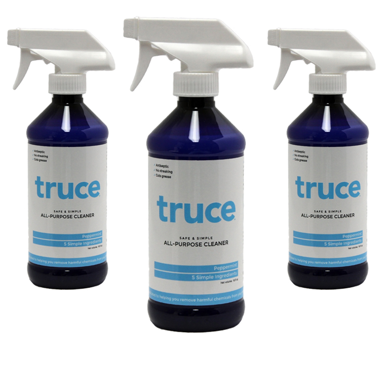 Truce Cleaner Label Printing